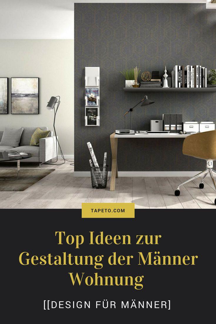 Design für Männer] Top Ideen zur Gestaltung der Männer Wohnung ...