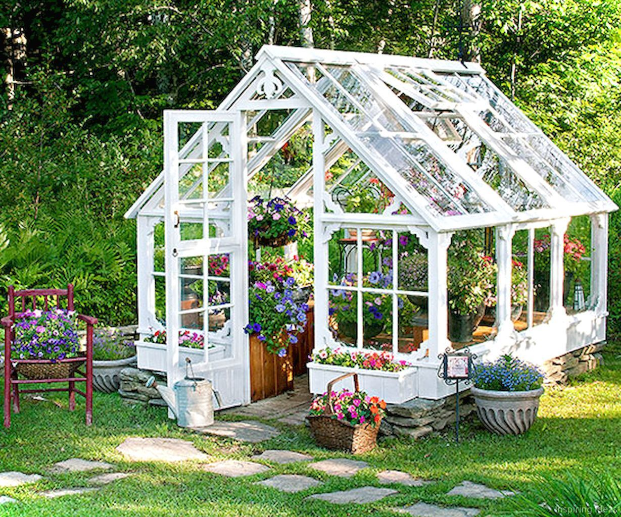 Cool 50 Awesome Garden Shed Design Ideas https://lovelyving.com/2017 ...