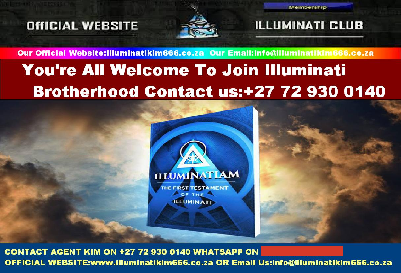 Power - Money - Fame Join Illuminati Occult