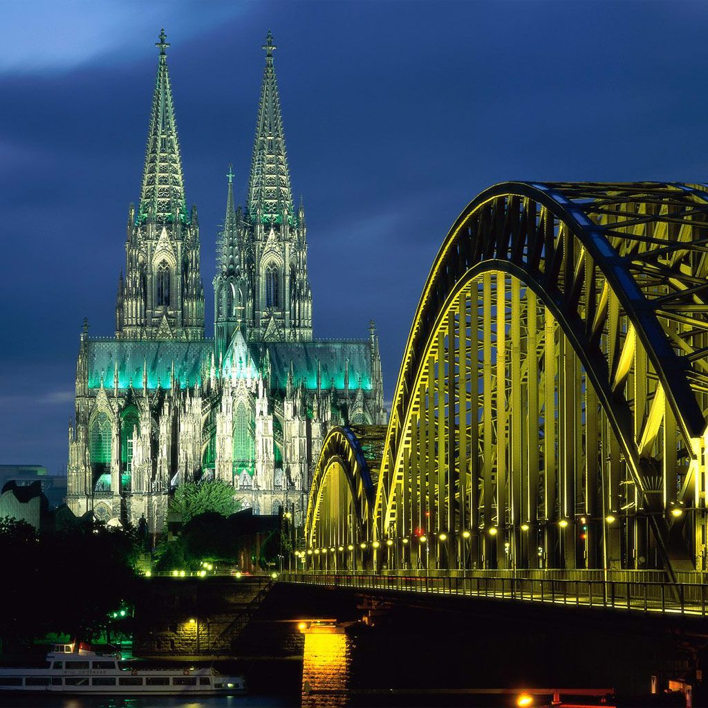 In Germany Cologne Cathedral And Hohenzollern Bridge Places Around The World Places To See Beautiful Places