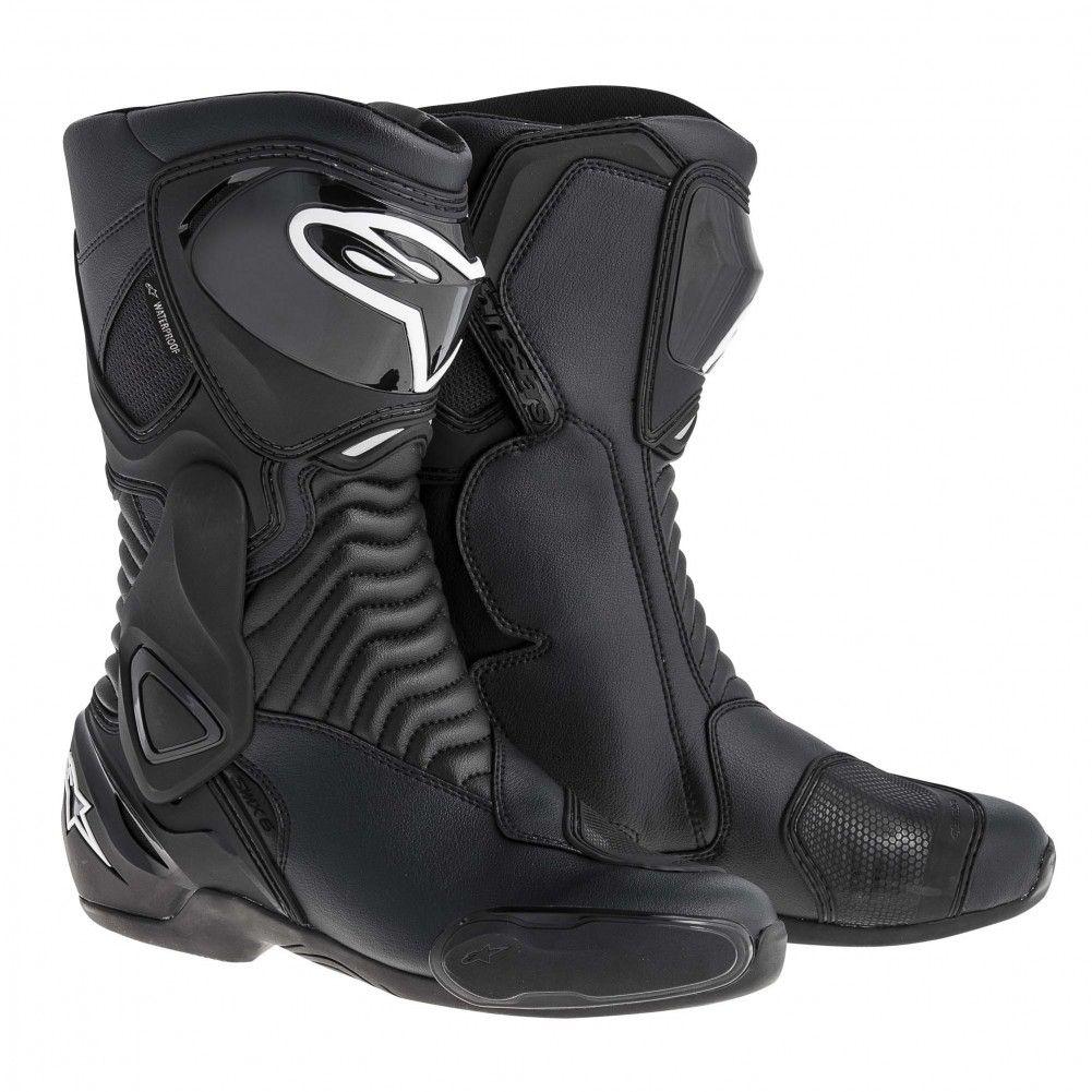 Alpinestars SMX-6 Waterproof Mens Street Riding Motorcycle Boots ...