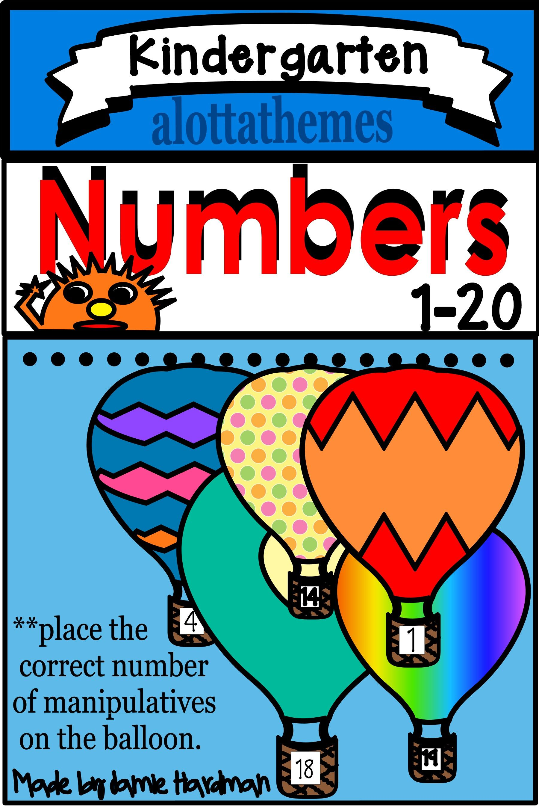 Counting And Numbers Math Activities