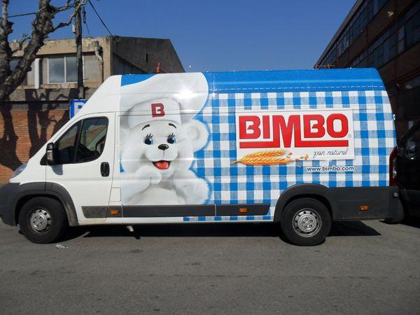 Furgoneta Bimbo | Marquage de voitures | Vehicles, Trucks ...