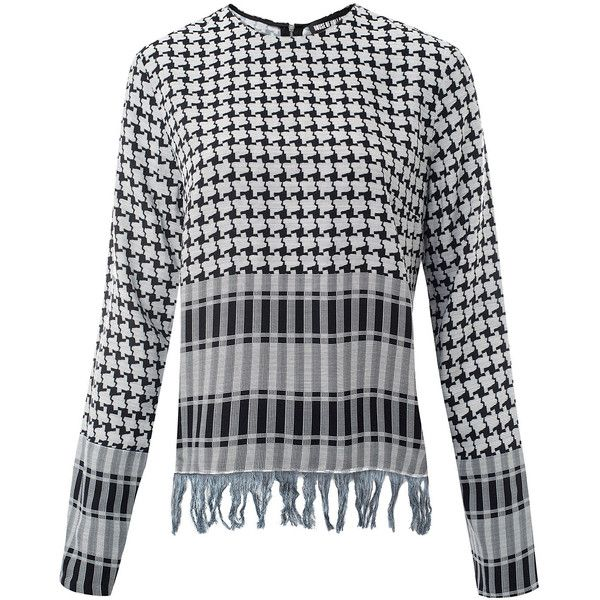 Outlet Deals Checked Stretch-knit Sweater - Black House Of Holland Cheap 2018 Unisex Buy Cheap 100% Original Clearance Cheap Real Outlet With Credit Card 1t2qSe9K