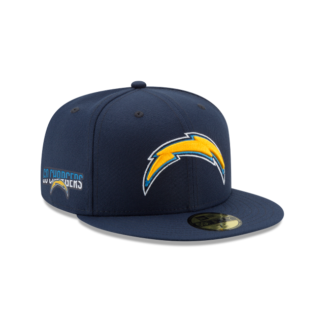 Los Angeles Chargers Team Slogan 59fifty Fitted Team Slogans New Era Cap New Era Hats