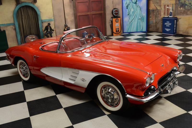 1961 Chevrolet Corvette C1 Chevrolet Corvette Chevrolet Corvette C1 Corvette
