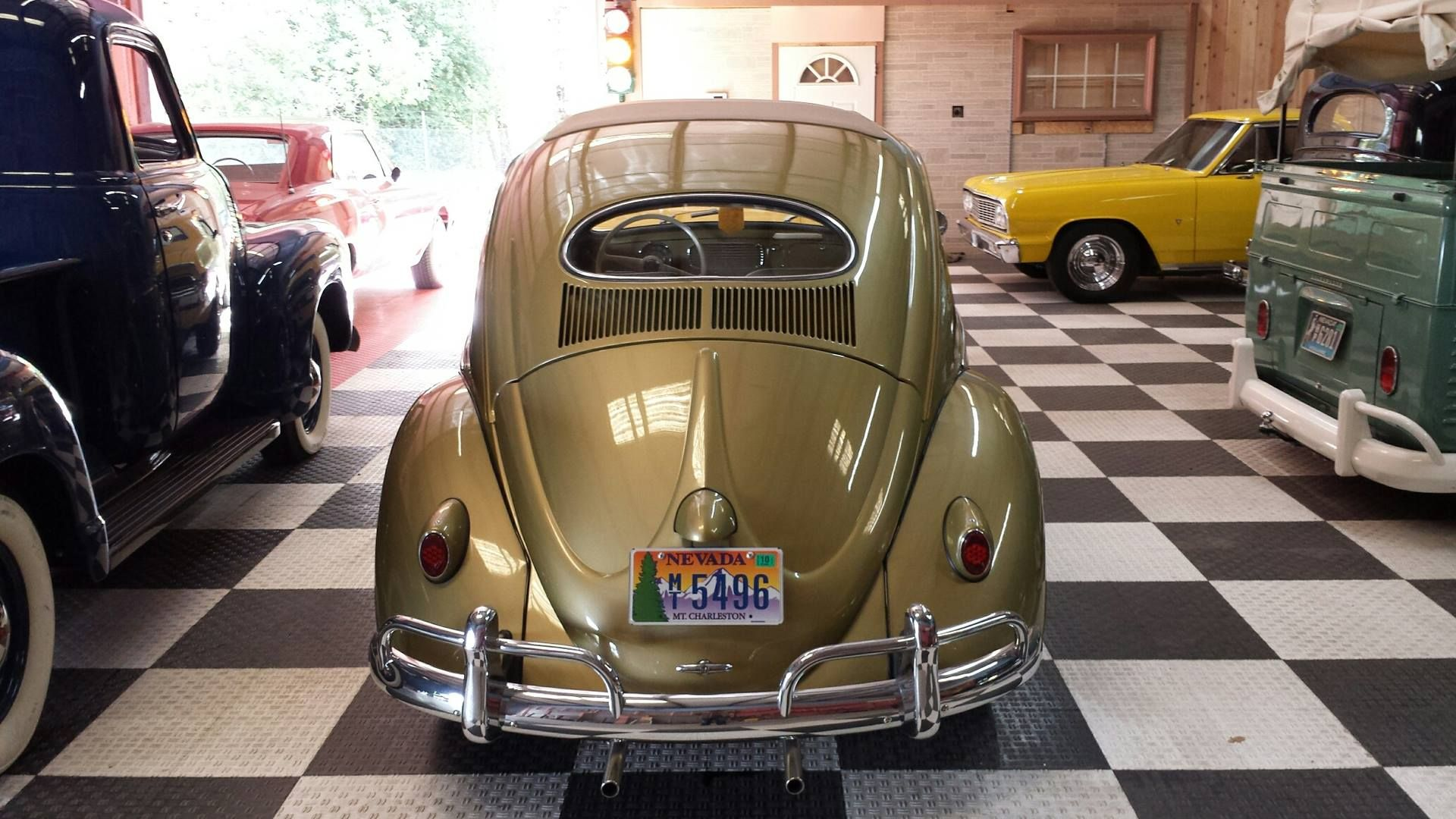 1957 Vw Beetle Ragtop Oval Window Hot Rides Vw Beetles Beetle