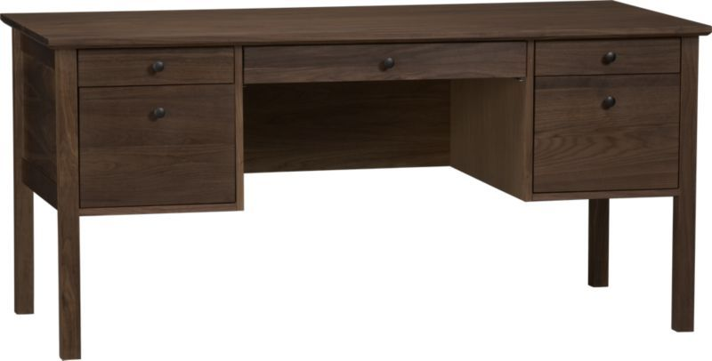 Ainsworth Walnut Desk For The Home Office Furniture