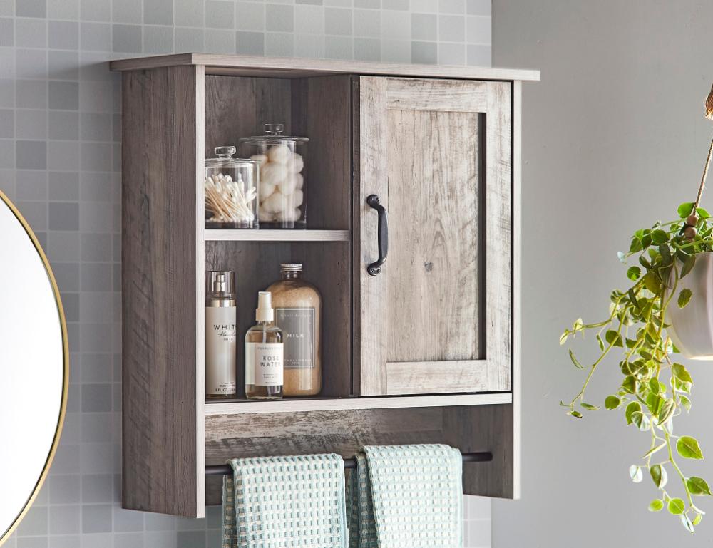 Modern Farmhouse Bathroom Wall Cabinet, Modern Bathroom Wall Cabinet