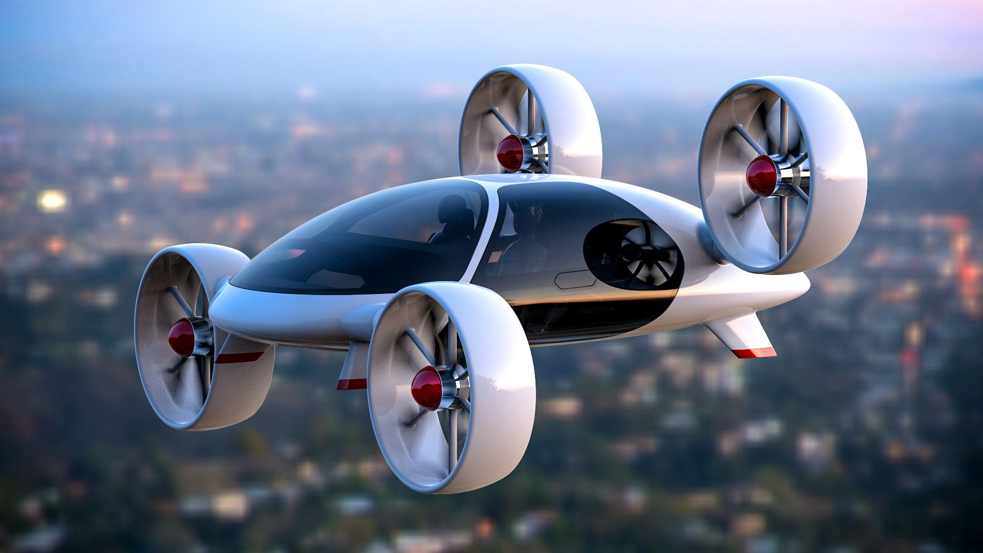 Most of the Latest Technology in the World Flying car