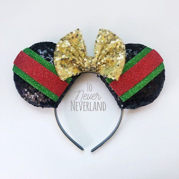b0a3169a5 Gucci Mickey Ears, Gucci Inspired Minnie Ears, Designer Mickey Ears, Mickey  Guccci Ears, Fashion Mickey Ears, Designer Inspired Ears, Gucci Be a part  of the ...