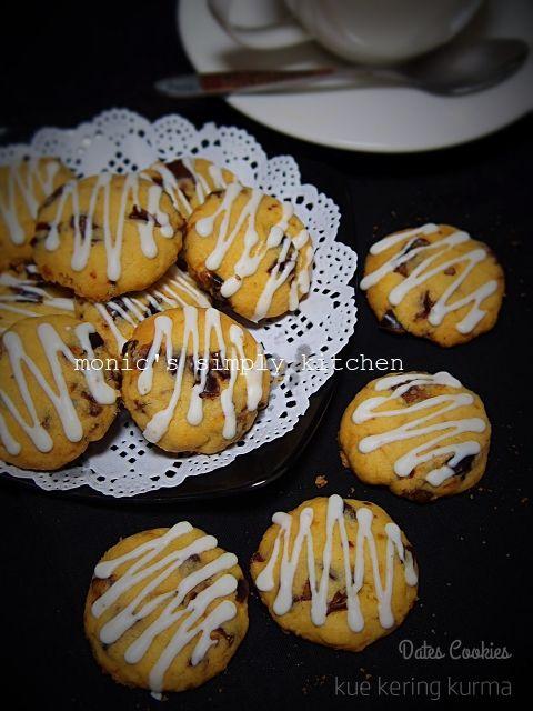 Resep Kue Kering Kurma Dates Cookies Perhitungan Harga Jual Monic S Simply Kitchen Kue Kering Resep Biskuit Kue Kering Mentega