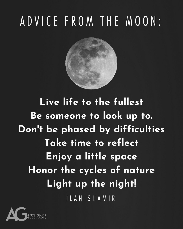 Wisdom Quotes Quoteoftheday Qotd Inspiration Anthonygucciardi Quote Moon Ag Quote Great Quotes Live Life