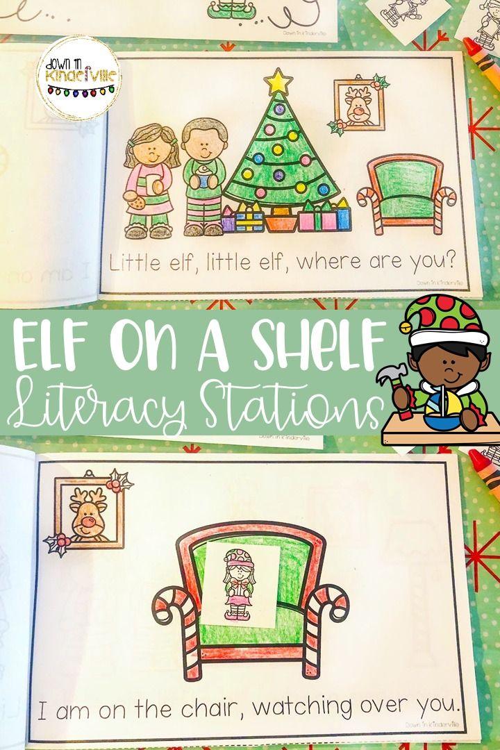 Elf Literacy Stations