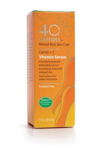 40 Carrots Carrot Plus C Vitamin Serum Rated 3 9 Out Of 5 On Makeupalley See 11 Member Reviews Product Ingr Paraben Free Products Carrot Vitamin 40 Carrots