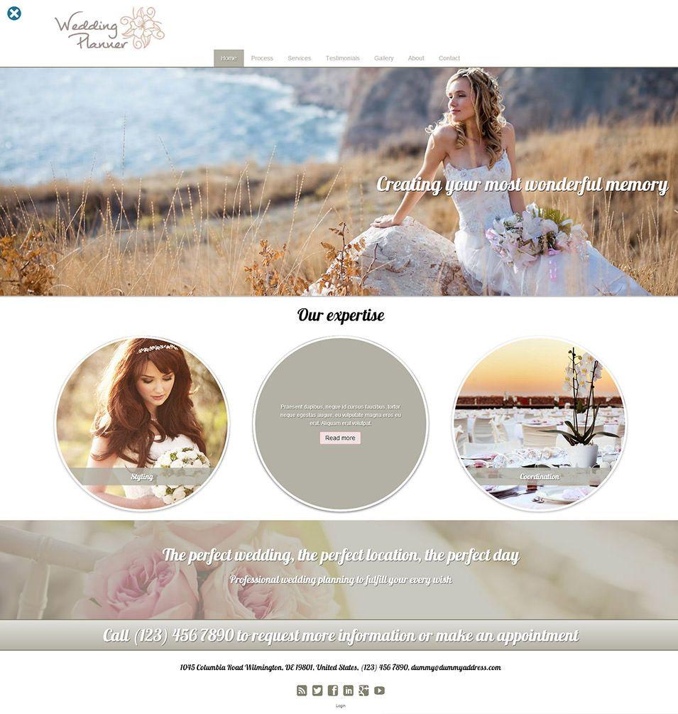 Amazing Of Free Wedding Planning Websites 15 Best Event Planner Website Templates Premium