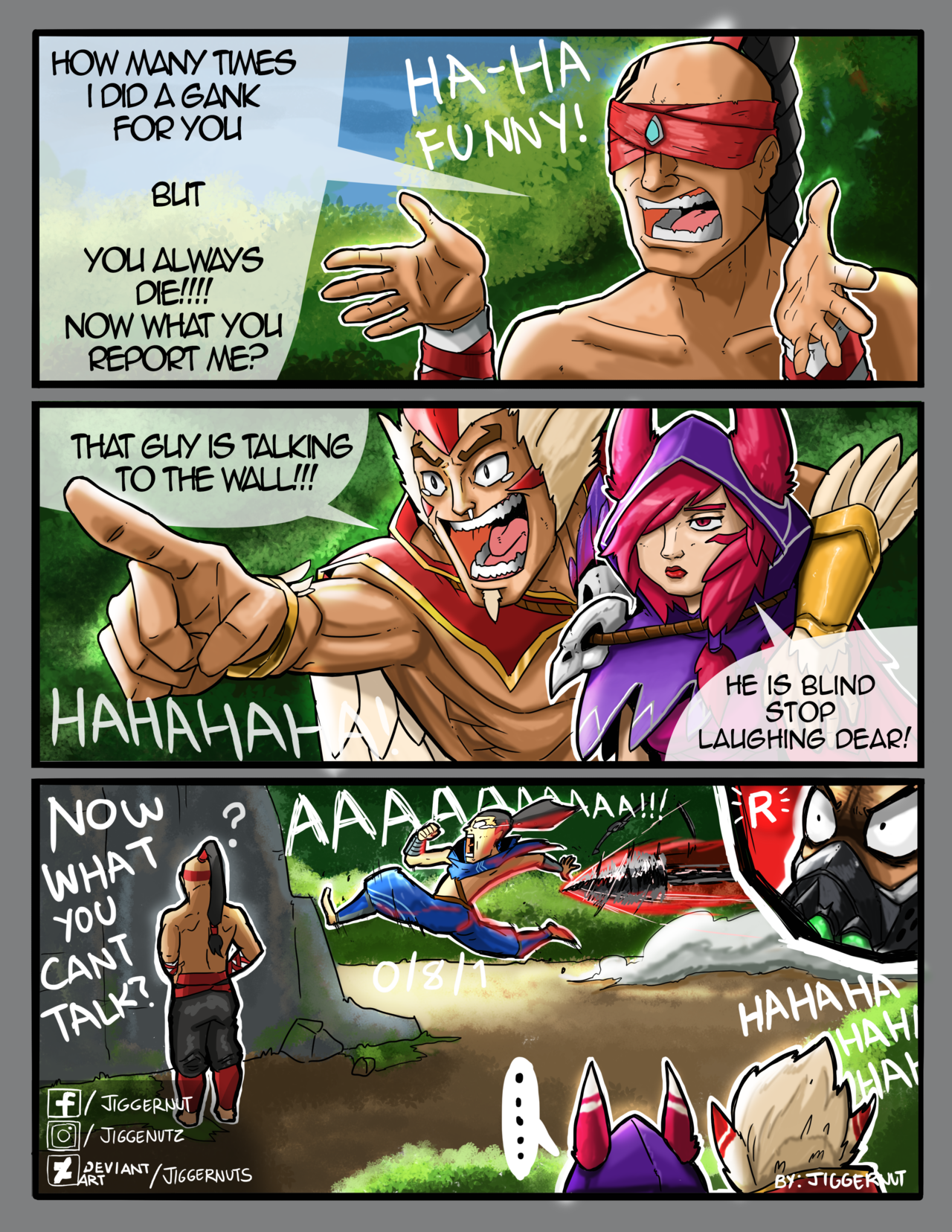 Talking To The Wall By Jiggernuts With Images Lol League Of