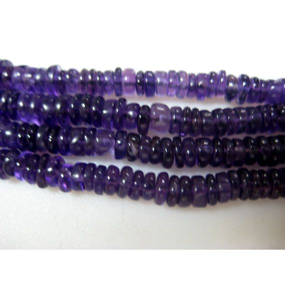 5mm Amethyst Faceted Box 8 Inches Strand