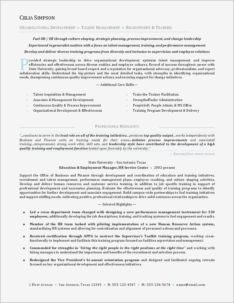 78 New Photos Of Sample Resume For Financial Management Student
