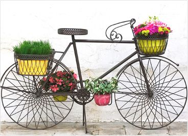 I Want This Bicycle Planter For My Front Porch.