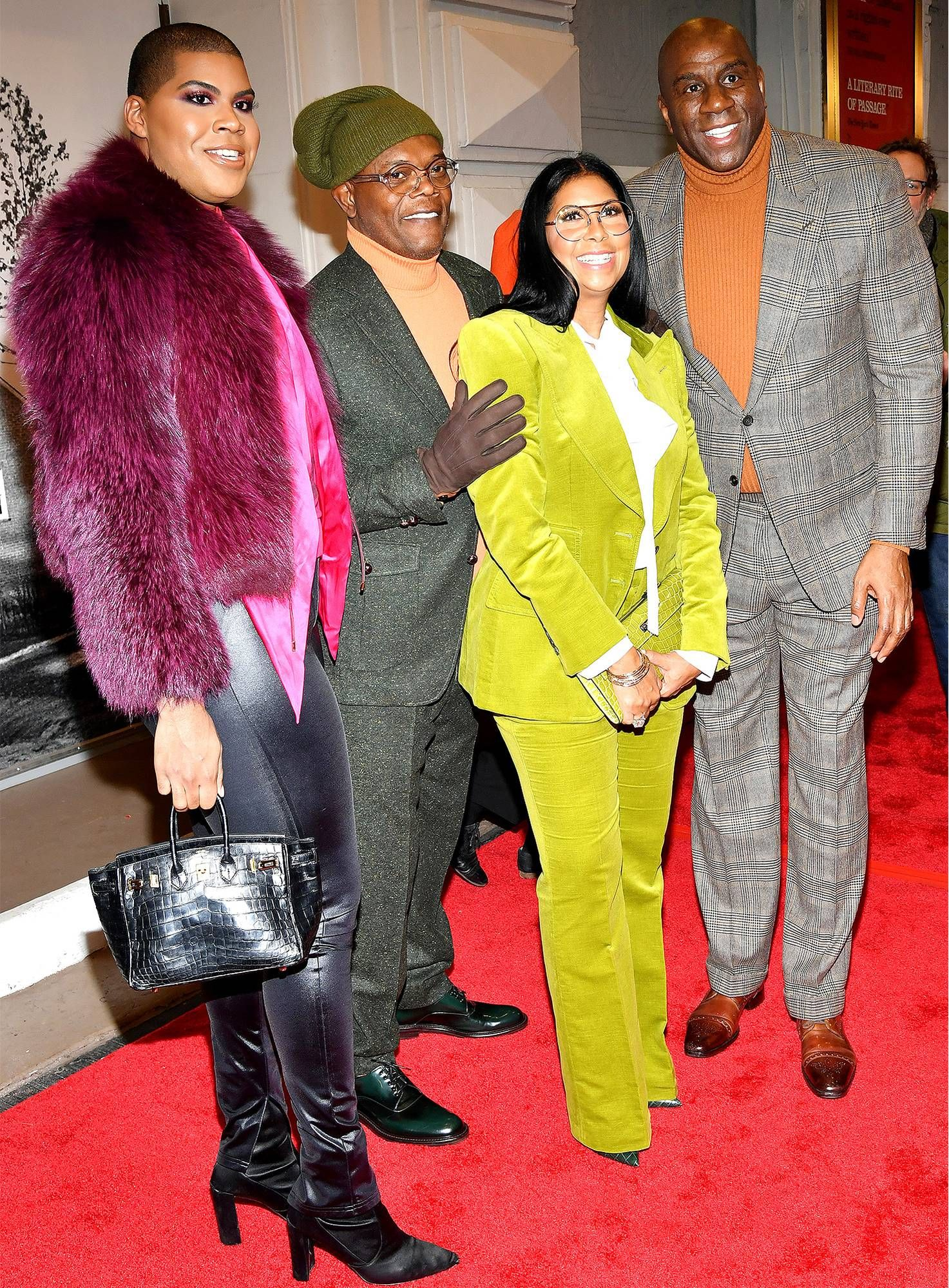 c1040035e71e Magic Johnson and His Family — Including Son EJ — Hit the Red Carpet ...