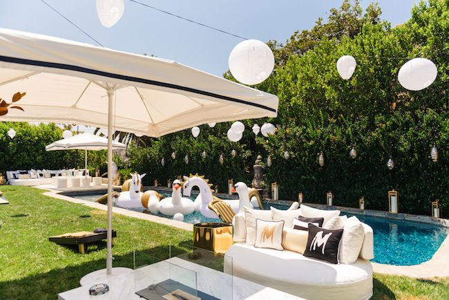 Luxurious Pool Party Inspiration Featured On Reverie Gallery