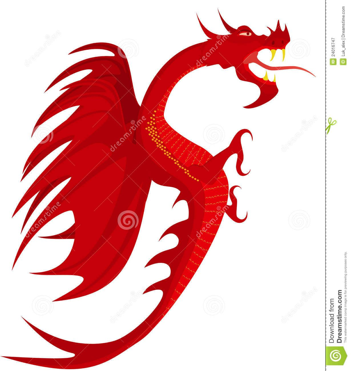 How to breed heraldic dragon - Heraldry Red Dragon Royalty Free Stock Photography Image 24016747