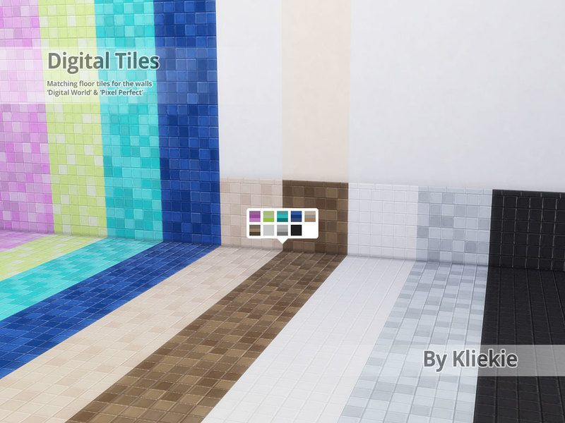 Matching Floor Tiles For The Wall