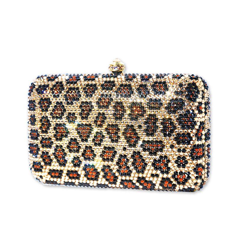 Leopardo Crystal Clutch Bag  #Swarovski #Clutchbag  http://www.playbling.com/en/leopardo-crystal-clutch-bag.html