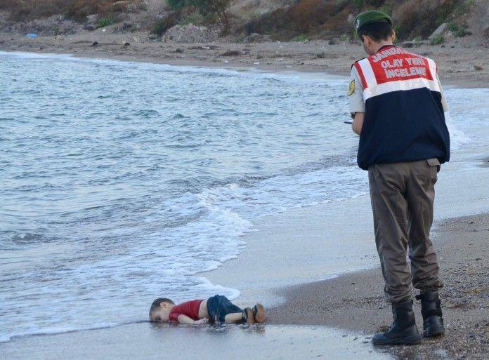Abusing Dead Syrian Children
