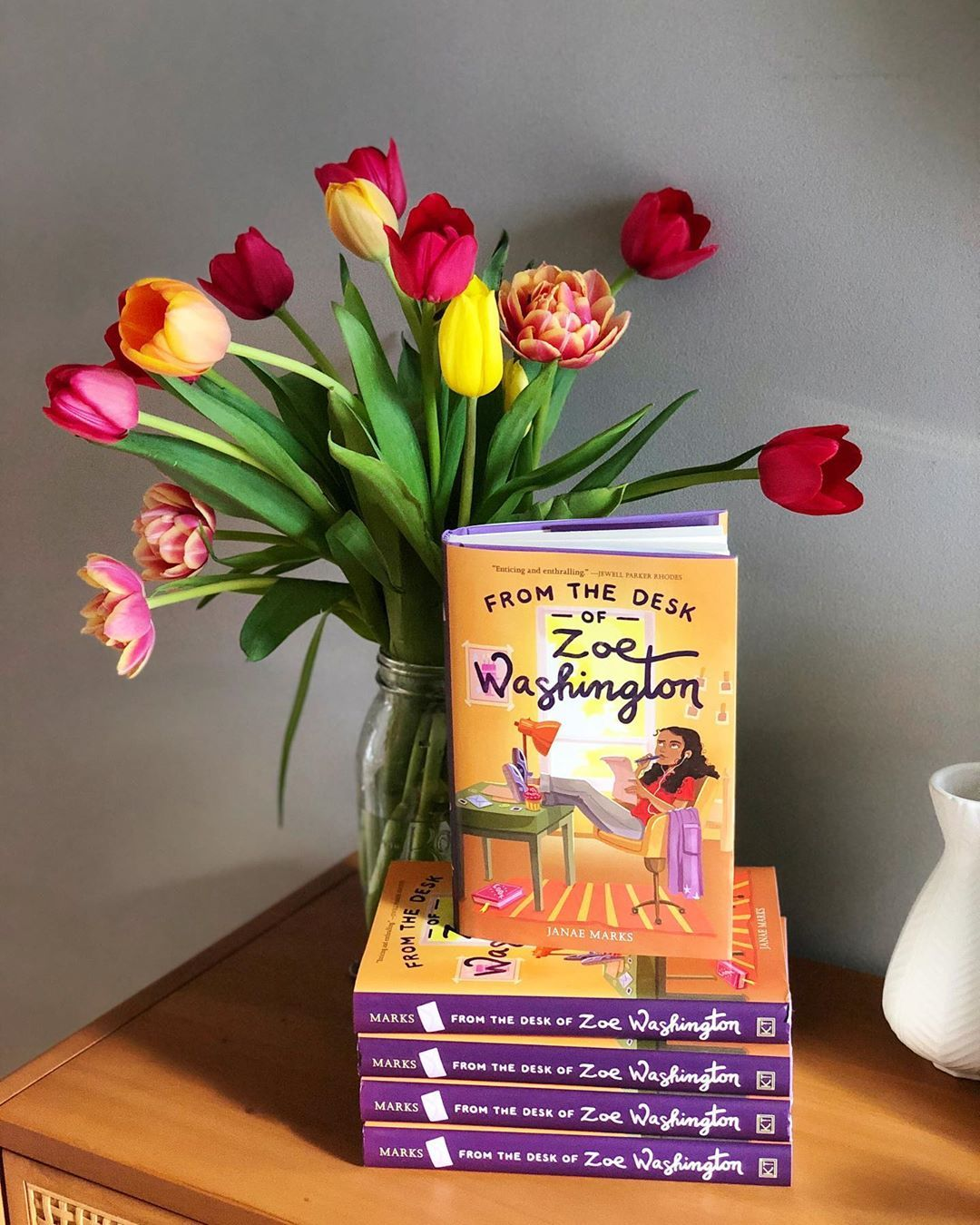 From The Desk Of Zoe Washington In 2020 Books For Tweens Twelfth Birthday Book Of The Month