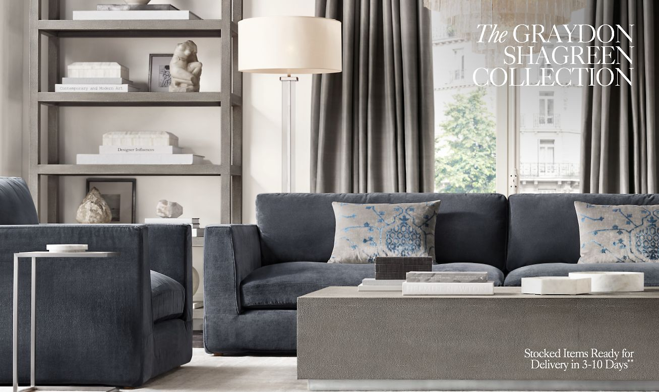 News From Rh Diy Living Room Decor Restoration Hardware Bedroom Furniture