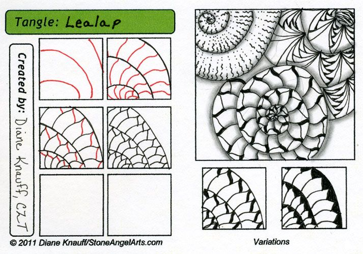 Displaying (20) Gallery Images For Zentangle Patterns Step By Step...