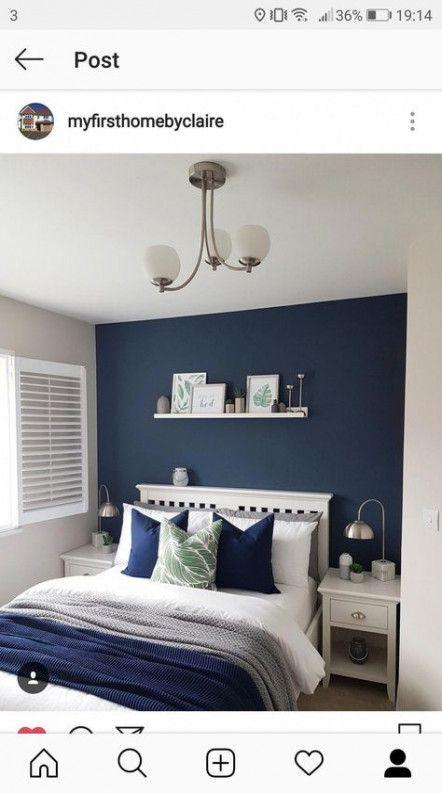 New Dark Bedroom Furniture Ideas Navy, Navy Blue Bedroom Furniture
