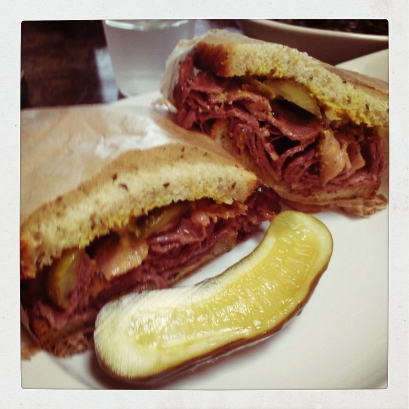 Pastrami sandwich @ Local 1205 Venice