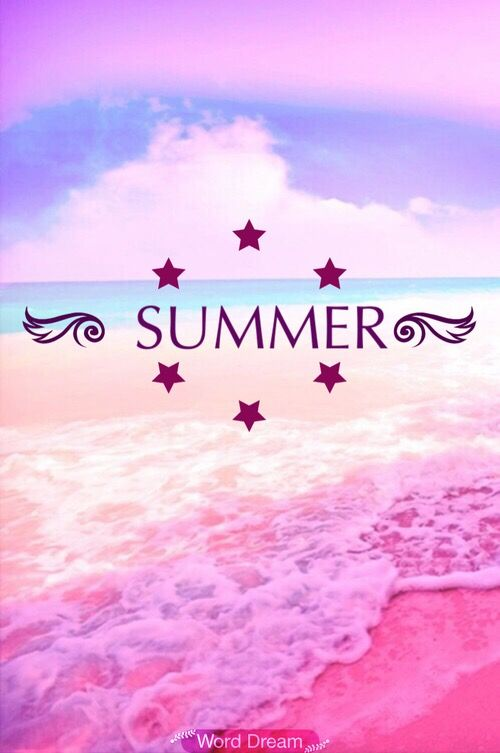 Lockscreen summer girly pink Iphone lockscreen