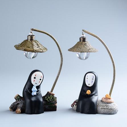 Creative Totoro Egg Model Night Lamp Craft Decoration Figurines Miniature Ornament Resin Night Light Craft Kids Christmas Gift Quality First Figurines & Miniatures