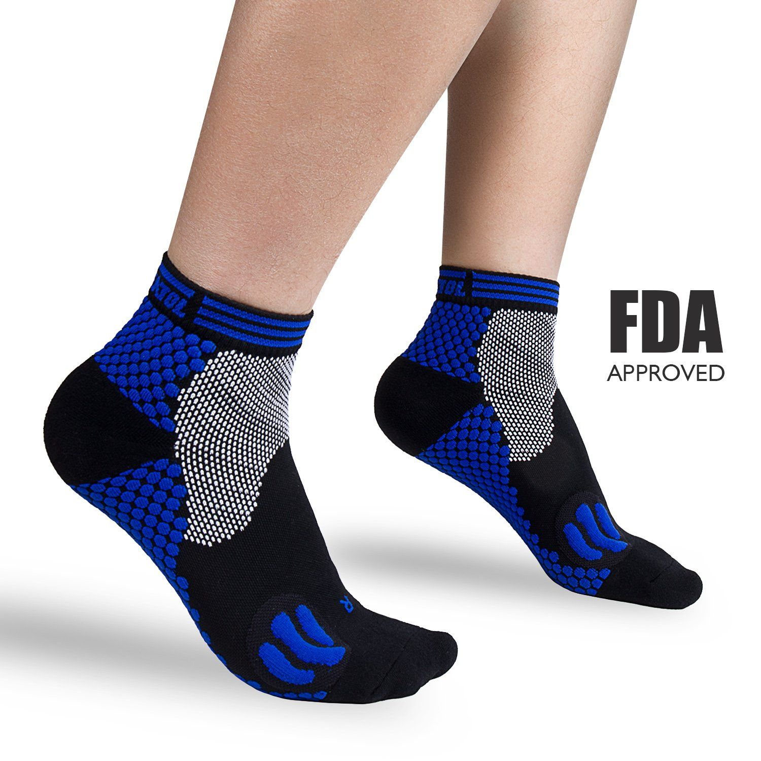 Plantar Fasciitis Support Compression Socks Women Men Best Running Ankle Athletic Socks
