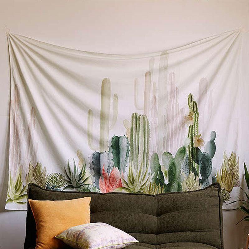 Home Textile Landscape Printed Wall Tapestry Cotton Yoga Mat Textiles Home Decor Curtain Sofa Chair Cover Soft Beach Thrown Towel Table Cloth Vivid And Great In Style Carpets & Rugs