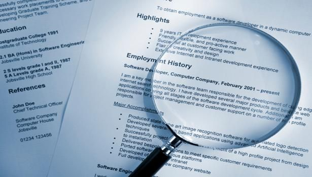 Lying on resume may not be a deal-breaker in jobs World News - jobs resume