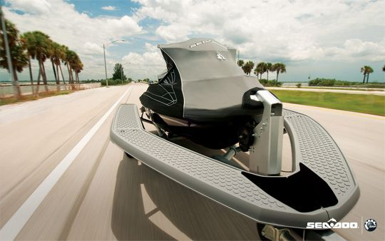 Sea-Doo Advanced TEC Best PWC Trailers Top the Competition