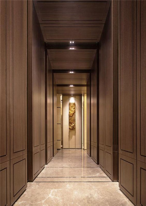 Pin by any jiang on like in 2019 corridor design hotel for Hotel corridor decor