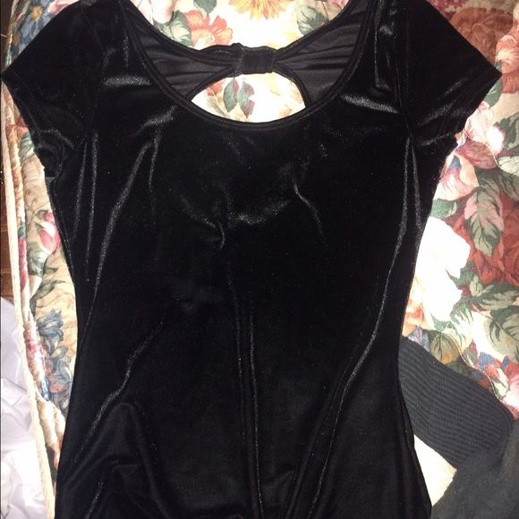 Suede black shirt Size medium black suede shirt from wet seal. Willing to negotiate Wet Seal Tops