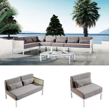 Best Seller Low Price Outdoor Sofa Set Aluminum Outdoor Furniture ...
