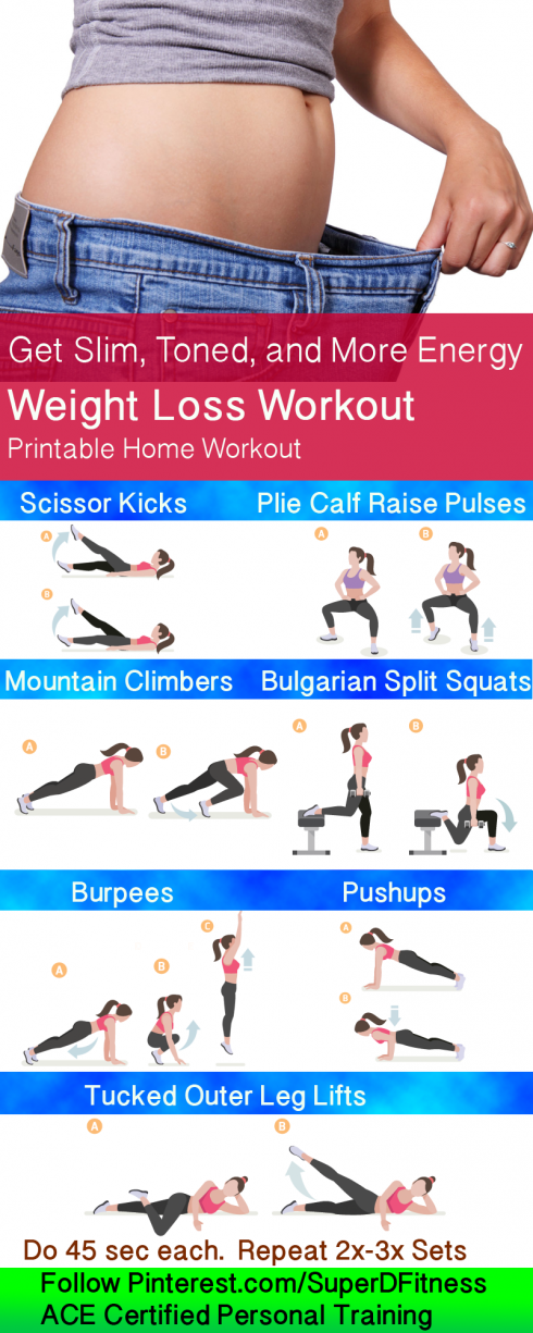 Photo of Get Slim Toned and More Energy with this weight loss workout! Follow Pinterest.c…