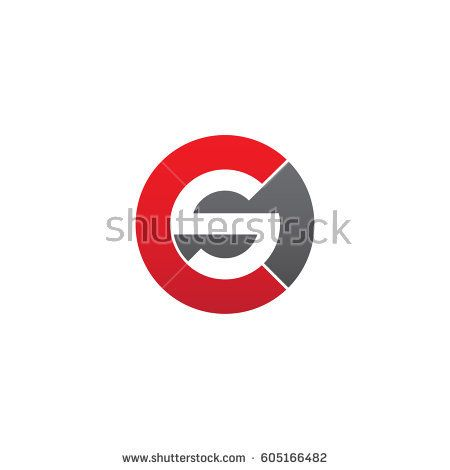 Initial Logo Cs Sc S Inside C Rounded Letter Negative
