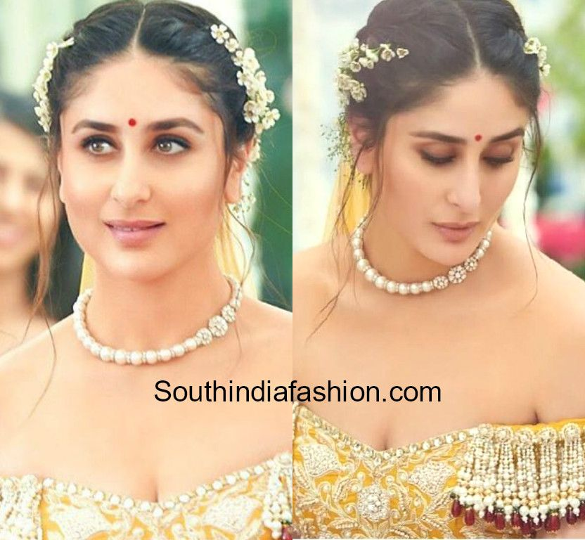 Pin By Umama Khan On Jewellery Kareena Kapoor Hairstyles Indian Wedding Hairstyles Veere Di Wedding