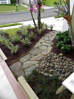 Dise os del jard n en zonas tropicales moda y yo for Jardines pequenos con piedras