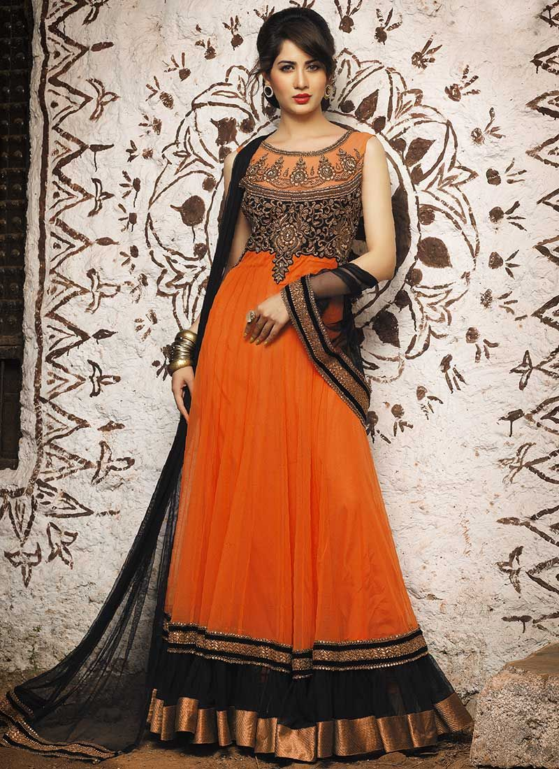 ccaba33610 Anarkali Frock, Anarkali Suits, Black Anarkali, Frock Design, Maxi Styles,  Churidar