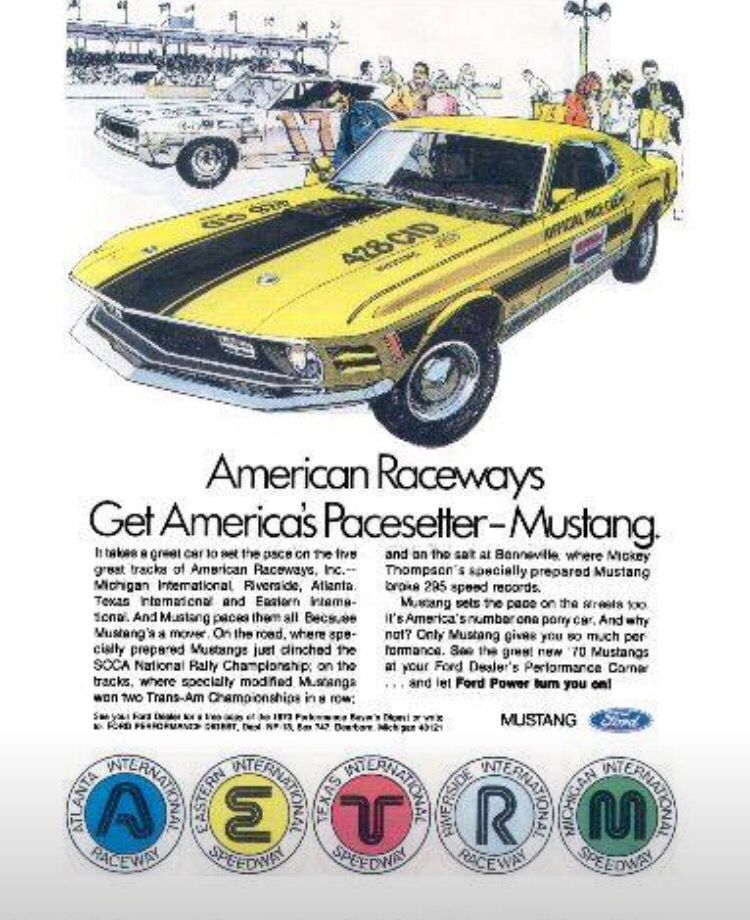 60's advertising   60's advertisements mostly mustang   Custom
